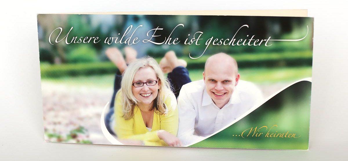 ... Einladungskarten DIN Lang Format Heiraten In Krefeld