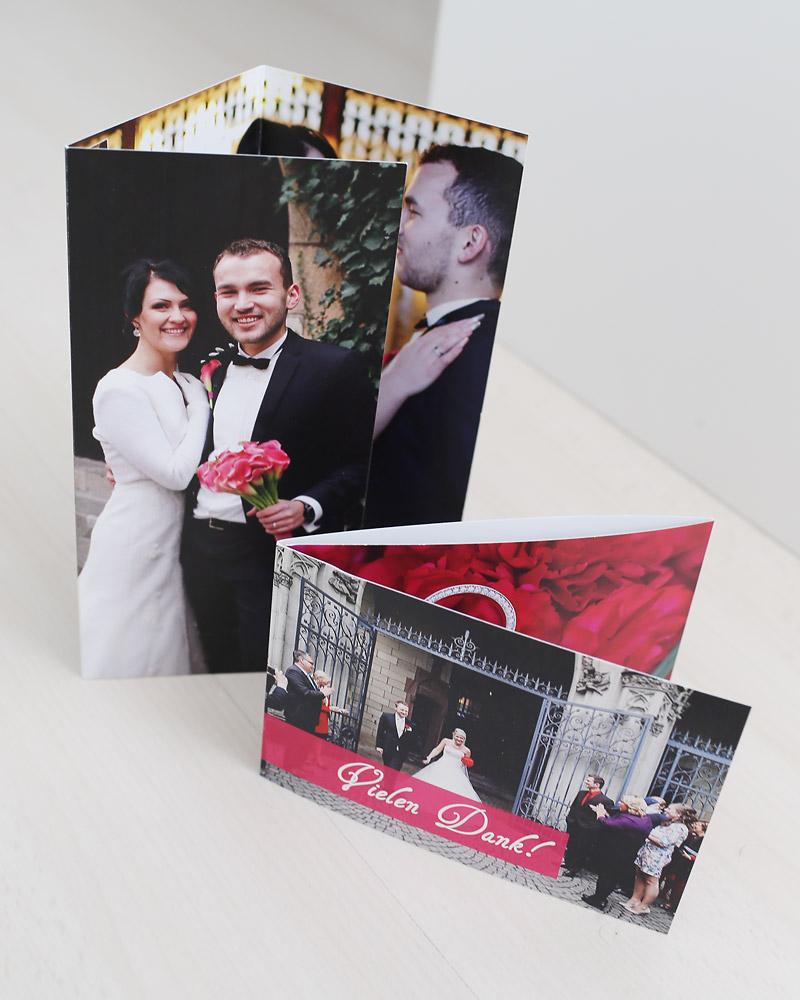 Danksagungskarten bestellen Heiraten in Köln