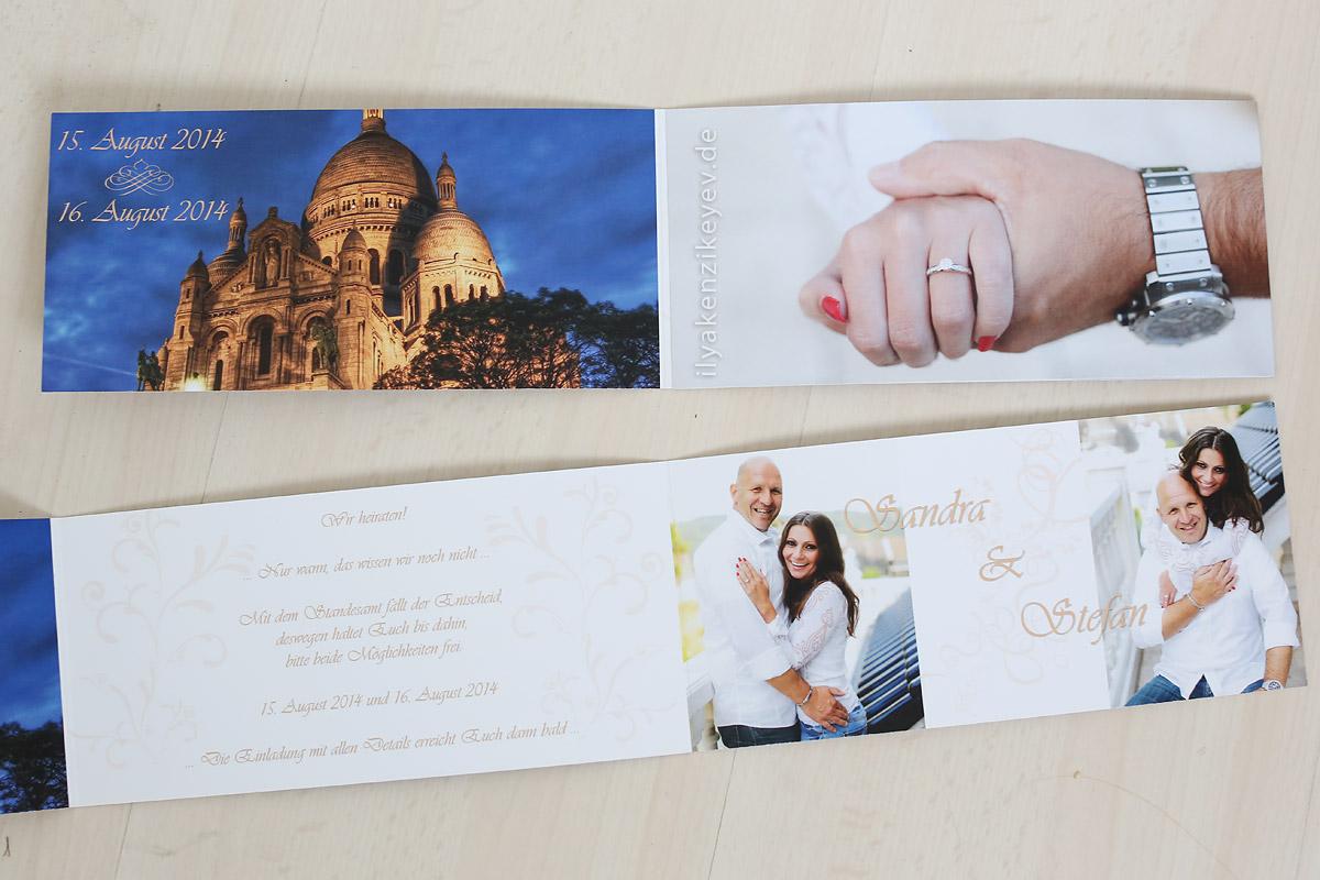 Einladungen erstellen Heiraten in Hagen