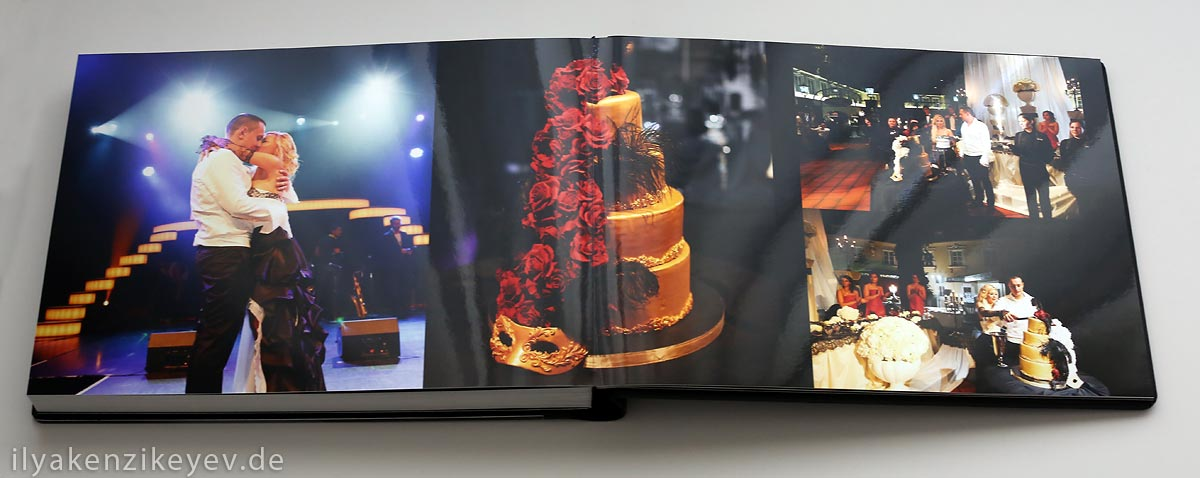 Hochzeitsfotoalbum Ilya Kenzikeyev Hochzeitsfotografie