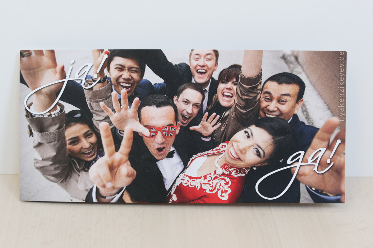 Karten Einladung online bestellen Heiraten in Meerbusch