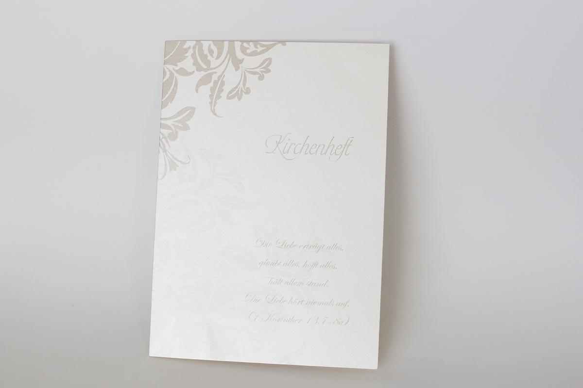 Kirchenheft bestellen Druckerei Heiraten in Düsseldorf