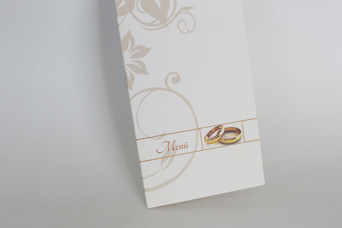 Menü Karten Hochzeit heiraten in Köln