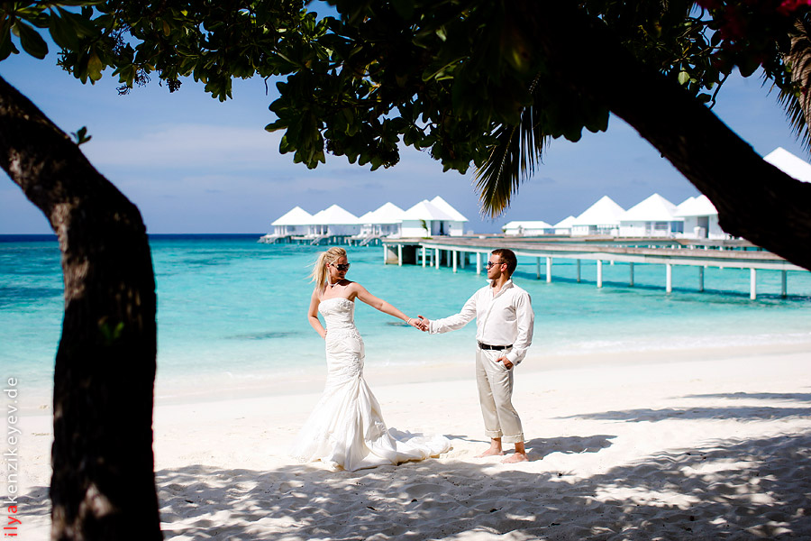 Hochzeit auf Malediven Diamonds Thudufushi Beach & Water Villas