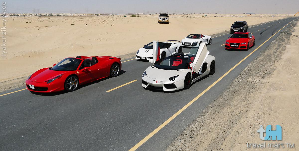 Luxus Supercar Dubai Mieten