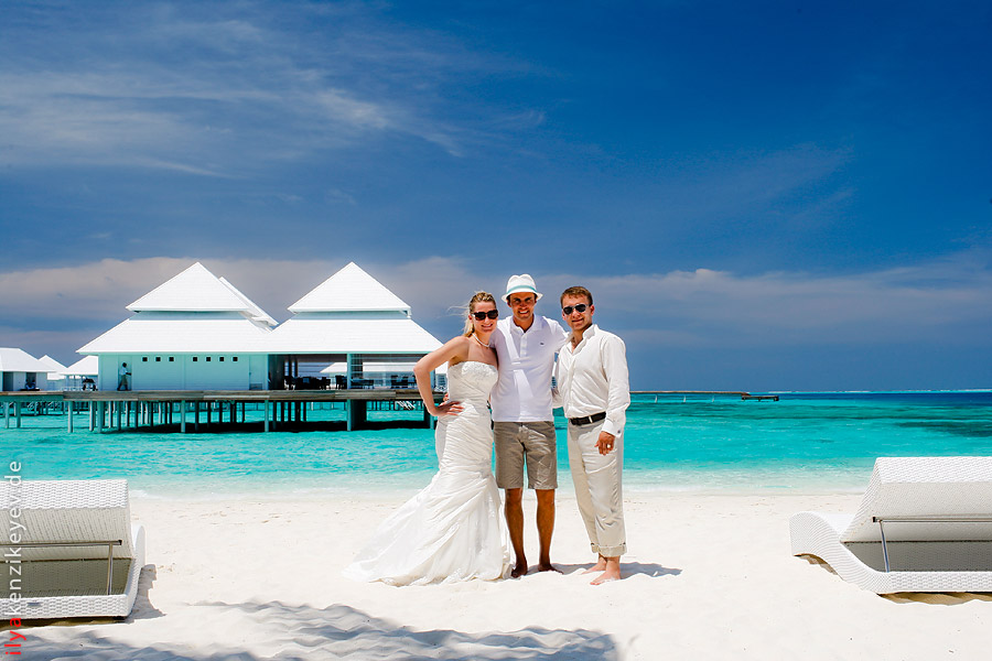 Ilya Kenzikeyev Hochzeitsfotograf Malediven