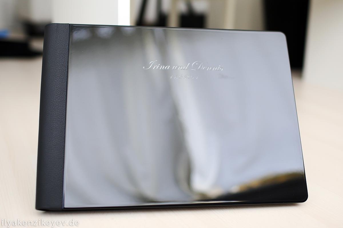 Album Foto hinter acrylglas, edel und schlicht