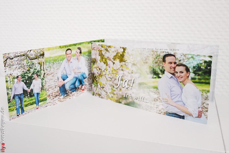 Einladungskarte zur Hochzeit Heiraten in Düren