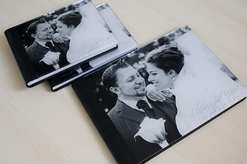 Hochzeitsalbum Plexiglas