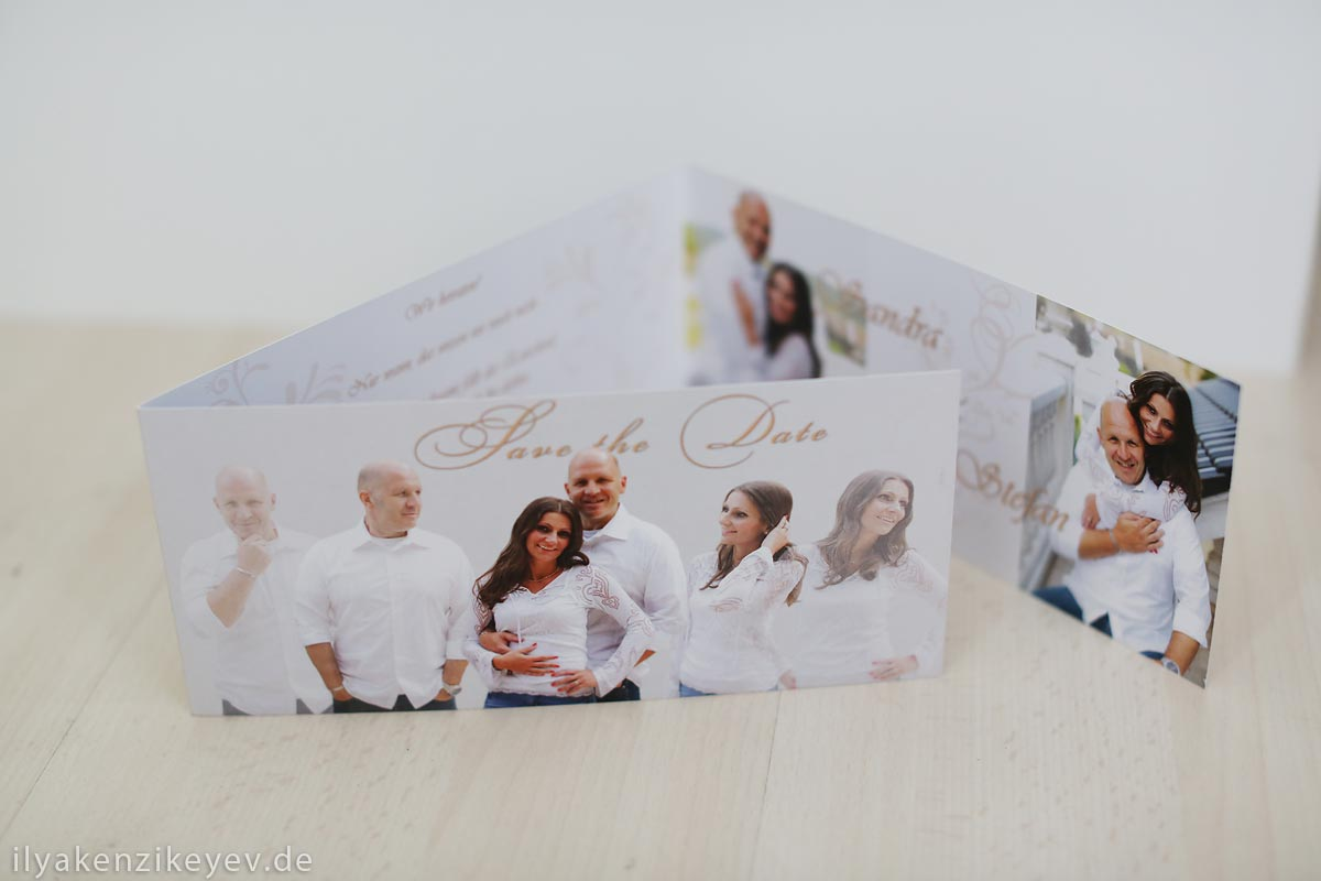 Save the Date Karten online bestellen Heiraten in Langenfeld
