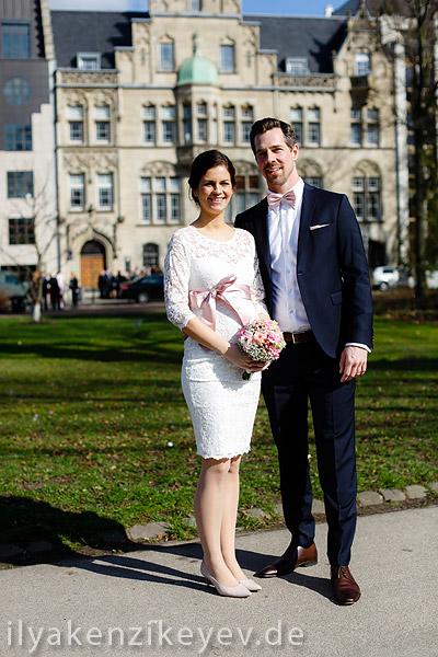 Heiraten im Standesamt Düsseldorf auf Inselstrasse