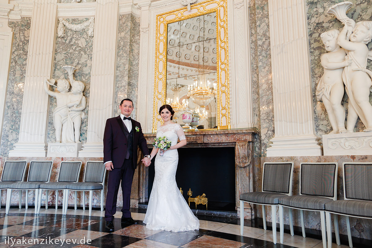 Hochzeit Schloss Benrath Christina Louise Photography