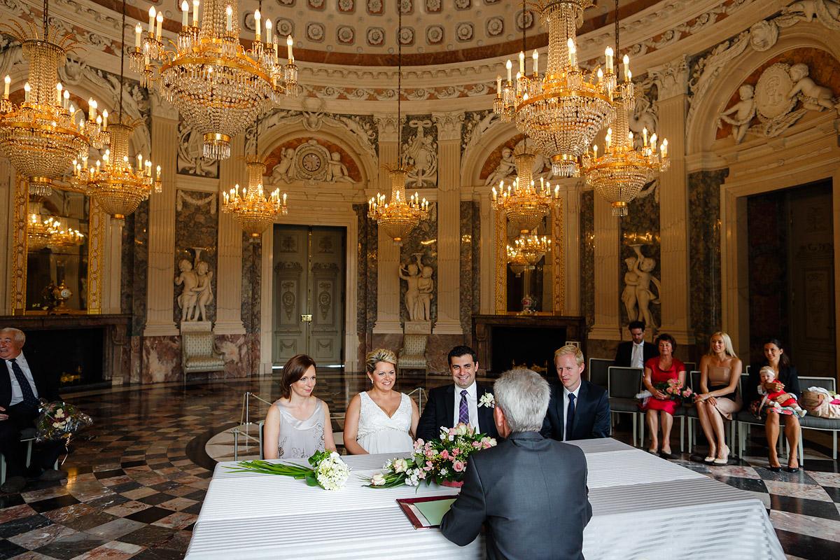 Heiraten im Schloss Benrath Düsseldorf