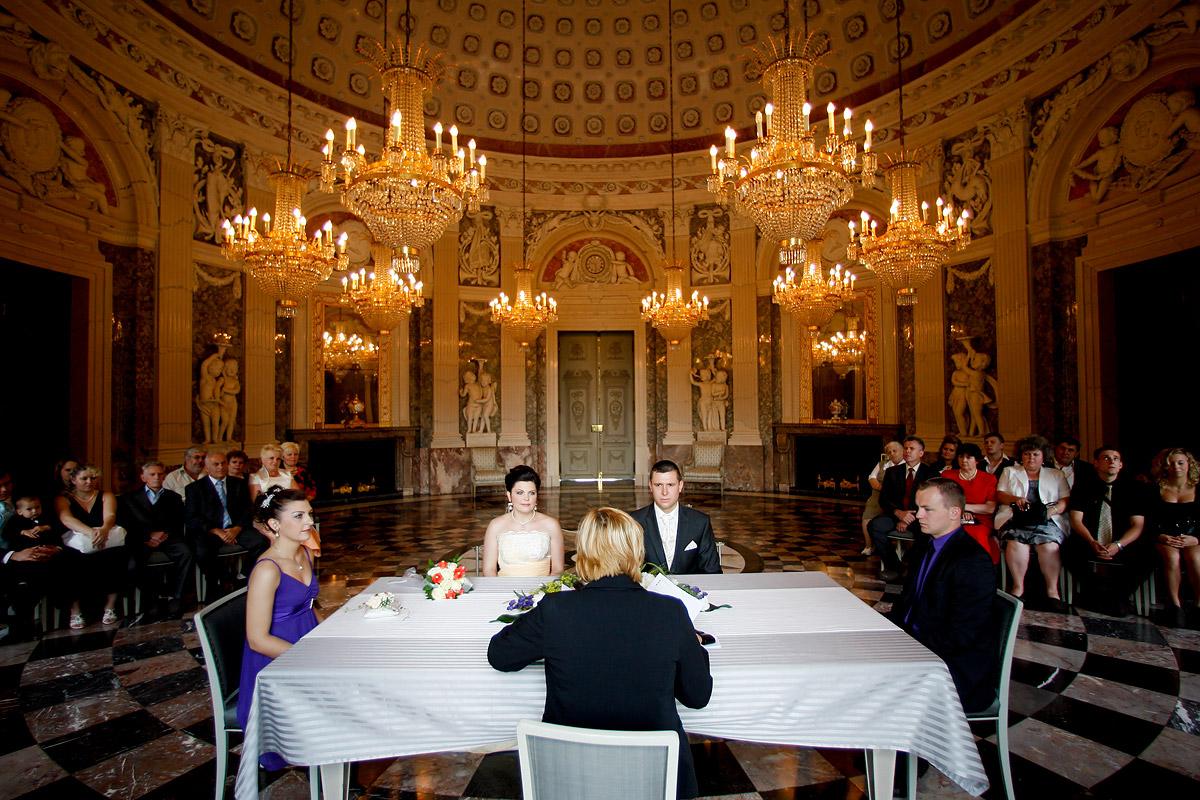 Heiraten im Standesamt Schloss Benrath