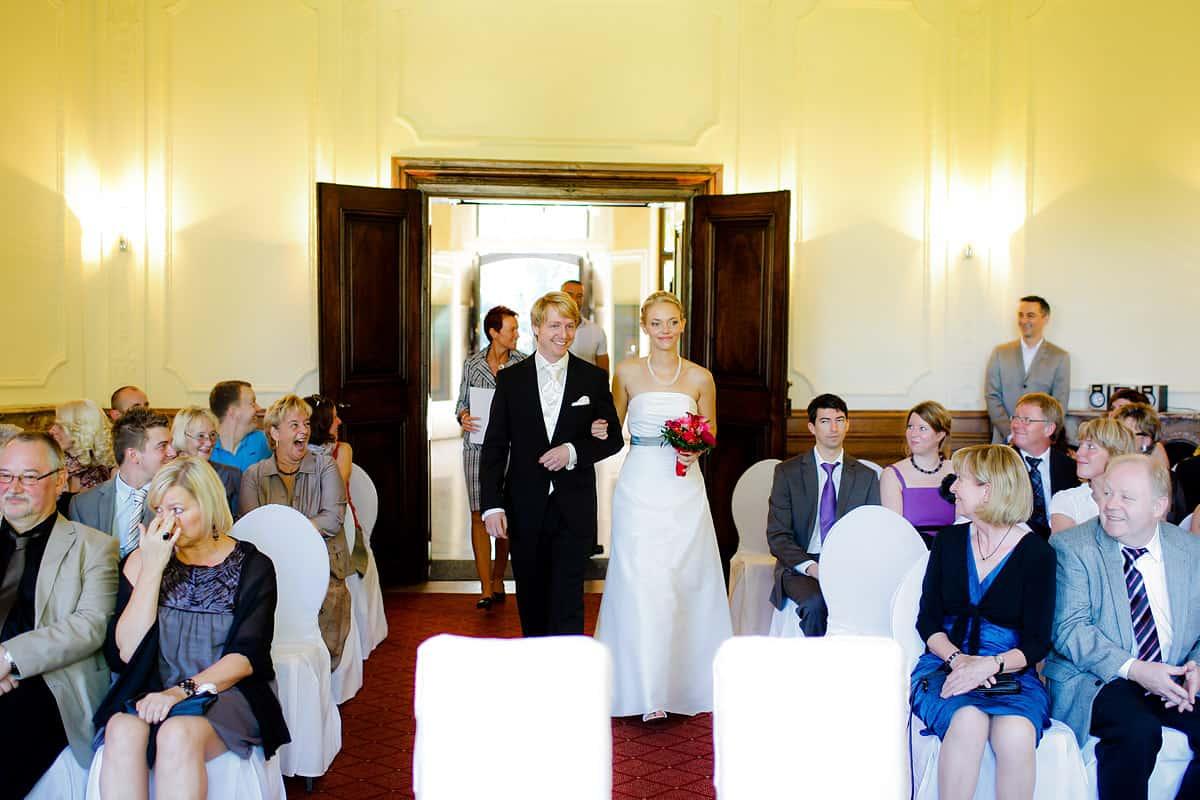 Heiraten im Schloss Eicherhof