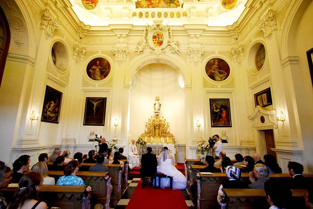 Heiraten in der Kapelle Schloss Nordkichen